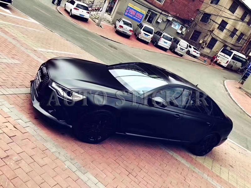 metallic black car vinyl car wraps 77