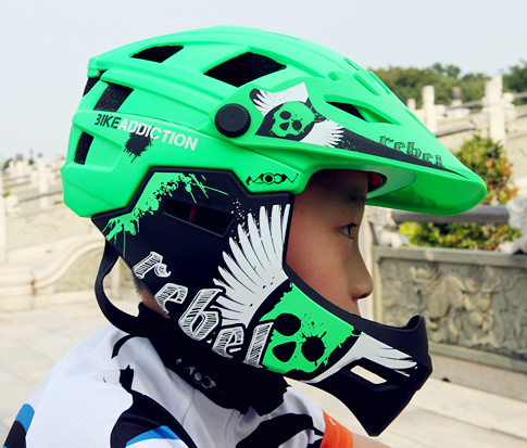 2018 MOON беговых шлем велосипедный съемный шлем пользовательские горные off road шлем детей и взрослых
