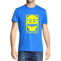 Mr Robot T Shirts Men Fashion Fsociety Mask Printed T Shirt Summer Short Sleeve Cotton TV