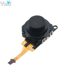 YuXi 2pcs 3D Analog Button Joystick Stick Replacement Joystick Game Controller Accessories Parts for Sony PSP 3000 Console high quality analog 3d joystick stick for nintendo64 for n64 original wired controller