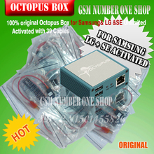 Gsmjustoncct 100% oryginalny Octopus Box dla Samsung & LG i SE Aktywowane z Kable Nieograniczona teraz dodany Do samsung N900T & N900A