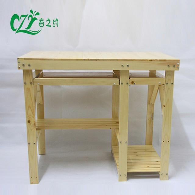 Desktop Computer Desk Printer Tables Sound Solid Wood Imported Pine Rural Home Special Offer Free