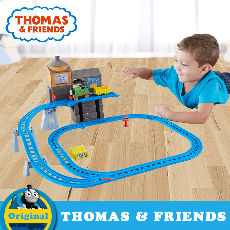 Anime Educational Thomas & Friends Rail Toy Diecast Mini Train Track Brinquedos DFL92 Thomas For Children Birthday Gift