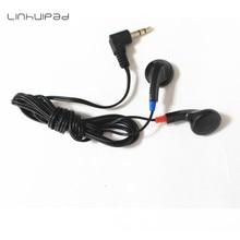Linhuipad DE-05 Cheap earbuds airline disposable earphones 500pcs/lot