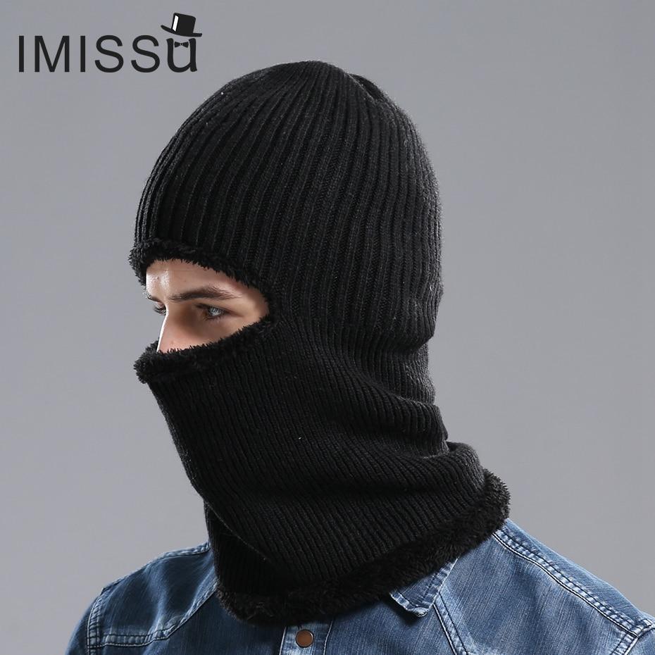 IMISSU Men's Winter Hat Knitted Wool s
