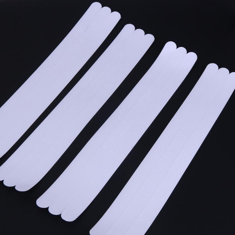 12pcs/set 2x38cm Transparent Bathroom Staircase Anti Slip Strip Anti ...