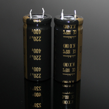 2PCS/10PCS Original Japan NICHICON KX 220uf/400V tube amplifier high voltage audio electrolytic capacitor FREE SHIPPING 100pcs 6kv 1000pf 102 high voltage ceramic capacitor