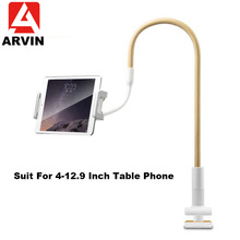 Arvin 120cm Long Arm Adjustable Tablet Stand Holder For Ipad Pro 11 12.9 Samsung Kindle 4-12 Inch Smartphone Tablet Mount Stand цена и фото