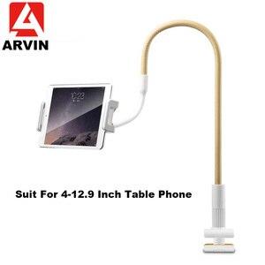 Soporte de soporte de Tablet ajustable Arvis de 120cm para Ipad Pro 11 12,9 Samsung Kindle de 4-12 pulgadas soporte de montaje de tableta para Smartphone