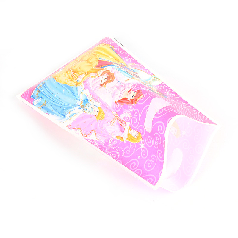 Image 4 - 10pcs/lot Disney Princess Cartoon Gifts Bags Kids Birthday Party supplies Baby Shower Favor Event Birthday Party Decoration-in Gift Bags & Wrapping Supplies from Home & Garden