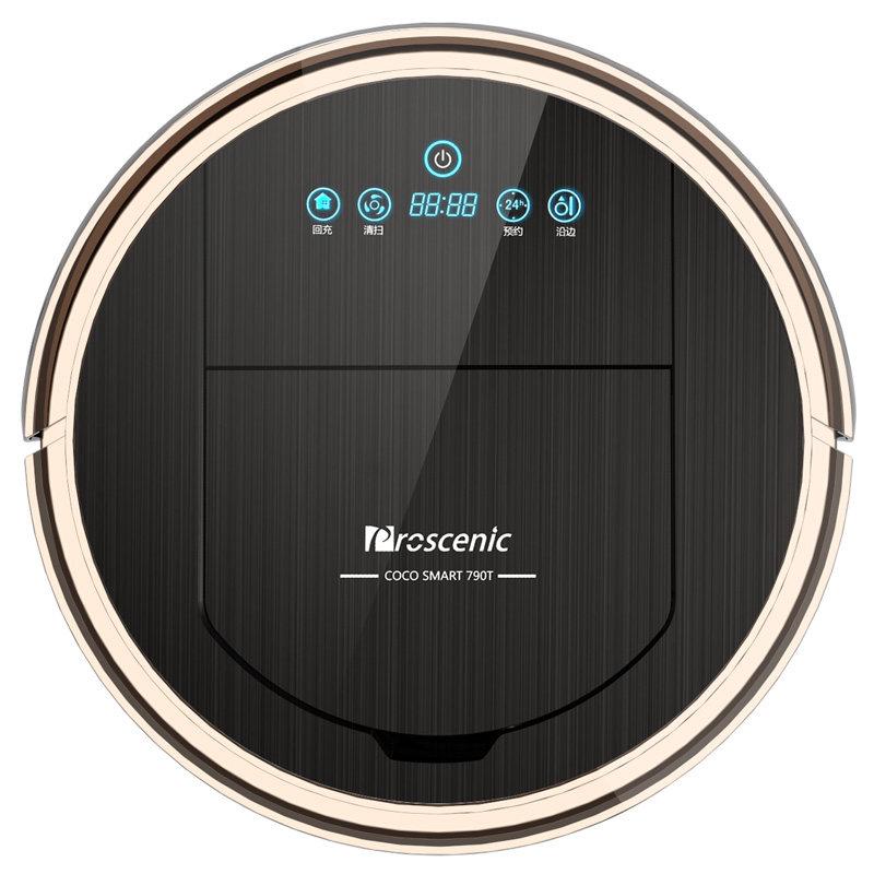 Robot aspirateur 2150 Pa Puissance D'aspiration aspirateur robot avec Wifi Connecté télécommande Aspirador