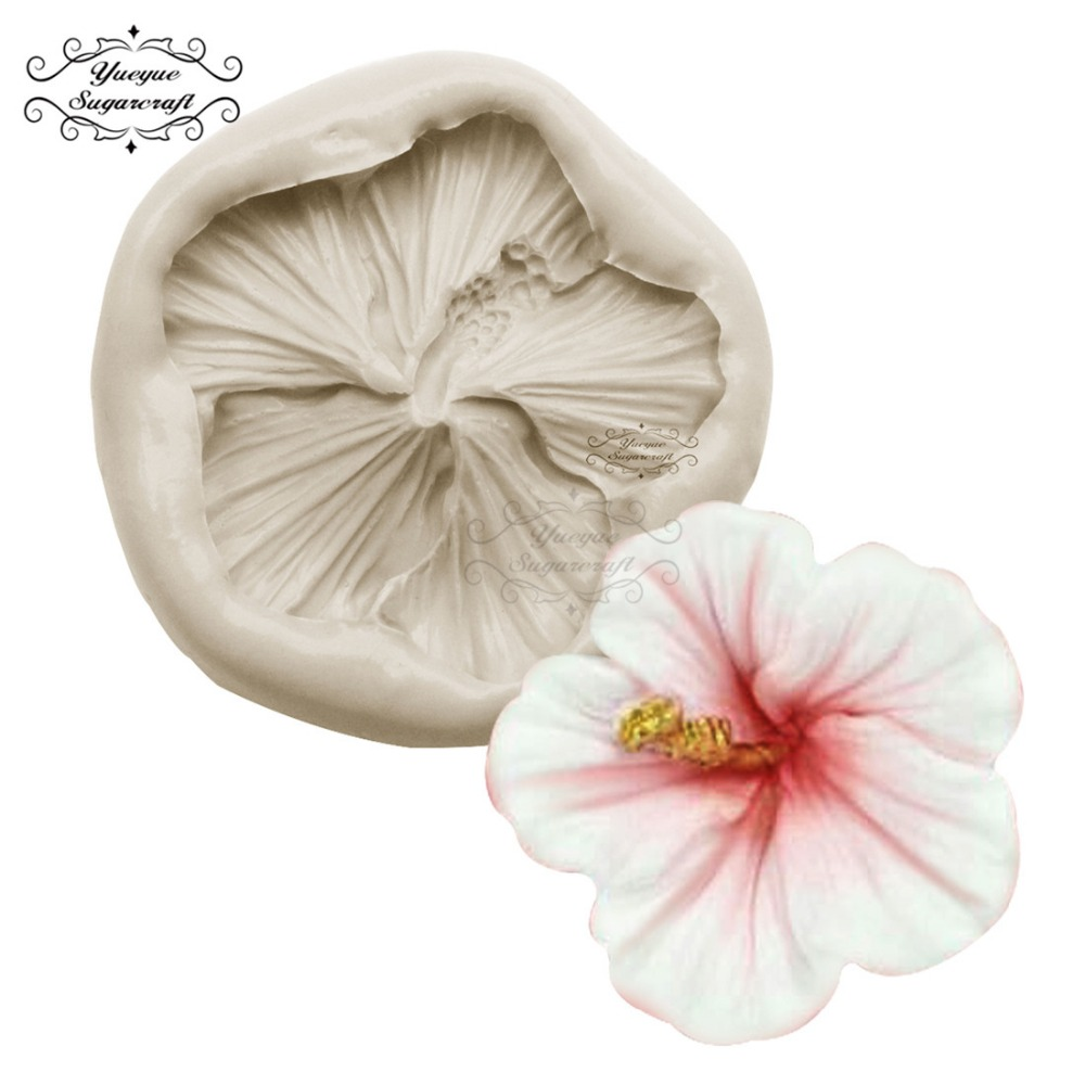 Yueyue Sugarcraft Mini Rose Flower Silicone Cake Mold