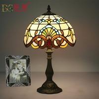 Fashion Design Turkish Mosaic Lamps E27 Base Handmade Glass Lampsahde Bedroom Bedside Vintage Table Lamp Light Fixtures