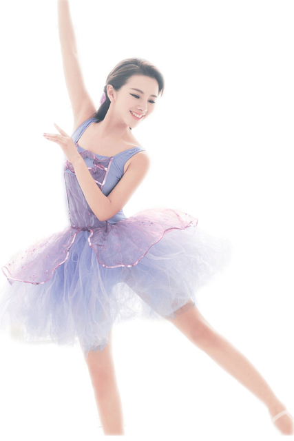 a53edb28e7fb Gymnastics Leotard Adult Classical Ballet Tutu Professional Purple ...