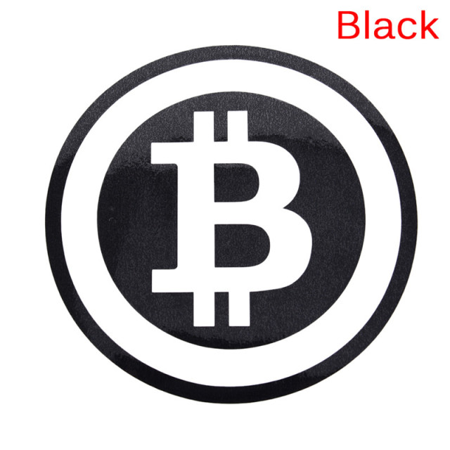 Large Bitcoin Car Sticker Cryptocurrency Blockchain Freedom Sticker Vinyl Car Window Decal 3