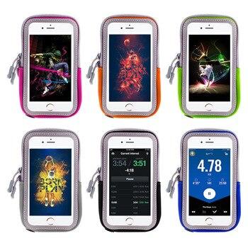 7bbd24625dc Brazalete para teléfono móvil, bolso de brazalete deportivo para correr,  soporte para teléfono móvil, brazalete reflectante para teléfono inteligente