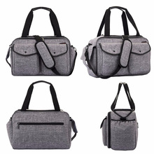 Mummy bag shoulder multi-function large capacity maternal and child package out travel waterproof diaper baby stroll