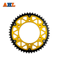 48T High Performance Motorcycle Steel Aluminum Composite Rear Sprocket For SUZUKI DR 250 DR250 1990 1993