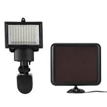 100 LED SMD Lampada Solare Esterna del Proiettore Giardino Decorazione Della Lampada di Notte di Sicurezza di Energia Solare Sensore di luce a Parete