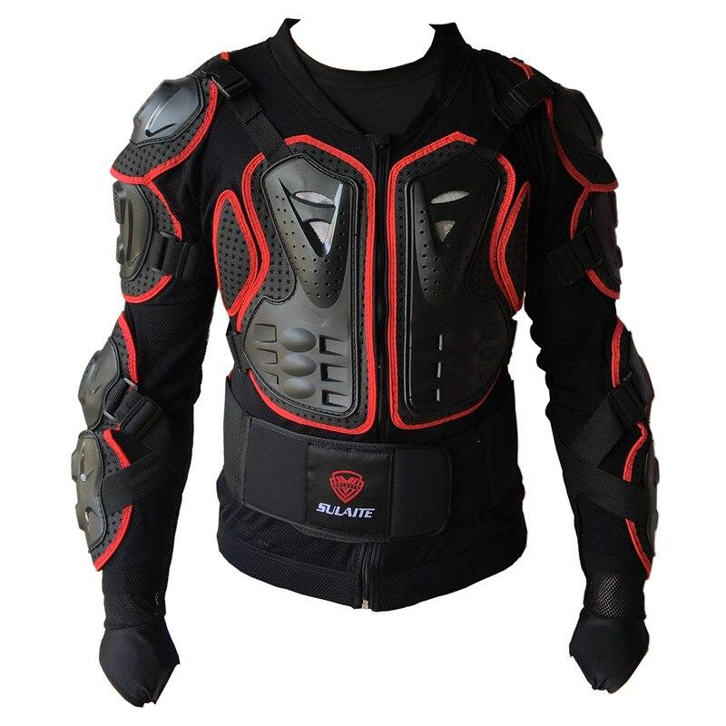 Profesional moto cruzada cuerpo de armadura del motor protección deportes chaqueta cuesta abajo mountin bicicleta armadura CE moto chaqueta