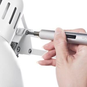 Image 5 - Youpin Wowstick 1FS 1P + Elektrische Schroevendraaier Verbeterde 18 Bits Aluminium Body Diy Gereedschap Kit Voor Smart Telefoon Camera repareren Kit