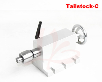 CNC lathe machine part cnc rotary axis tailstock activity  for Mini  router  engraving