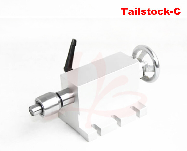 CNC lathe machine part cnc rotary axis tailstock activity tailstock for Mini CNC router cnc engraving machine