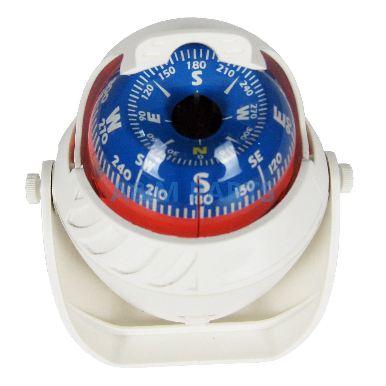 <font><b>Marine</b></font> Compass LED Light for Sail Ship Vehicle Car Boat Navigation White