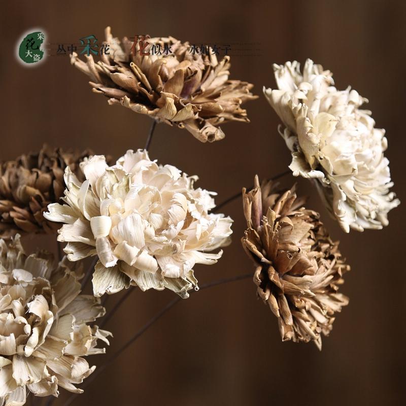 1 STCKE Mann Unsterblich Geranium Blume Wohnzimmer Tisch Dekoration Knstliche Blumen Handgemachte Ursprngliche Kologie Von Getrockneten