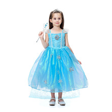 2019 New childrens wear Halloween Princess role-playing dress European and American dresses gauze costumes