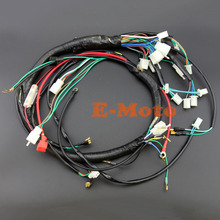 Electric Start Wire Loom Wiring Harness 200cc 250cc 300cc ATV QUAD BIKE BUGGY GO KART