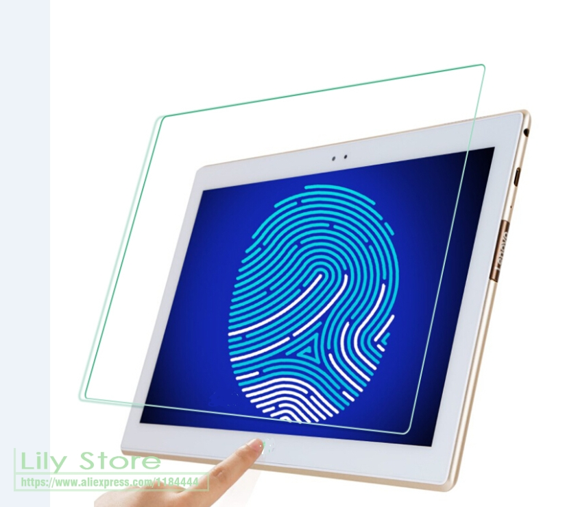 10.1 inch / 10 inch Size:235*165mm Universal Tempered Glass Screen Protector Tablet Protective Film with Safely Box Size Glass