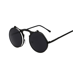 Hot Round Steampunk Sunglasses