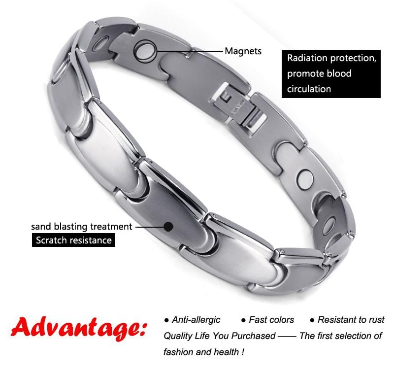 HTB1Qn0tSXXXXXXwXXXXq6xXFXXXZ - Health Care Magnetic Titanium Bracelets & Bangles for Men