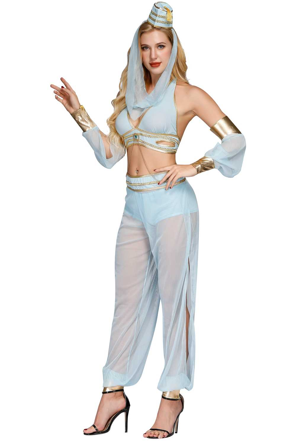 Aladdin Sexy sexy adult women belly dancer dress arabic dance costume