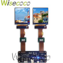 120hz 2.9 ''1440*1440 2K dual LCD screen display with DP to MIPI driver board for 3D VR AR headset windows mixed reality headset