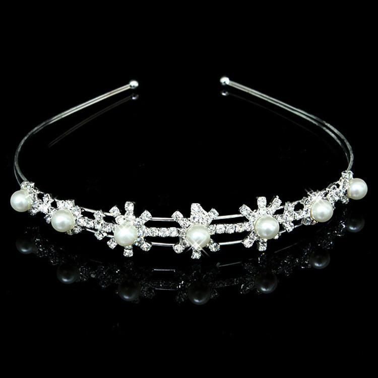 HTB1Qn1EKXXXXXabXpXXq6xXFXXXg Romantic Bridal Bridesmaid Prom Crystal Pearl Charm Headband Tiara Crown - 15 Styles