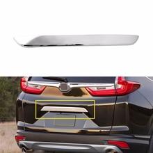 1 шт. хромированная Задняя Крышка багажника Bazel Накладка крышки для- Honda CRV аксессуары США внешние части новые