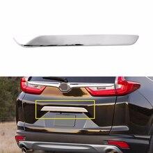 1 шт. хромированная задняя крышка Bazel Крышка Накладка для 2017-2018 Honda CRV аксессуары США наружные части новые