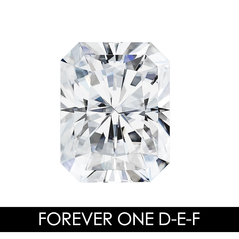7X5mm 1.20 CARAT 46 Facets Radiant Moissanites Loose Gemstone D-E-F Color Charles & Colvard USA Created Moissanites REAL7X5mm 1.20 CARAT 46 Facets Radiant Moissanites Loose Gemstone D-E-F Color Charles & Colvard USA Created Moissanites REAL