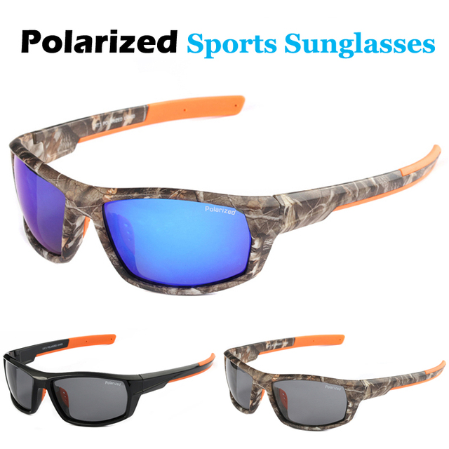 050958c7cd0 New Men s Goggles Polarized Driving Sunglasses Camo Frame Sun Glasses Brand  Designer Fashion Eyewear Military Camo Style Glasses