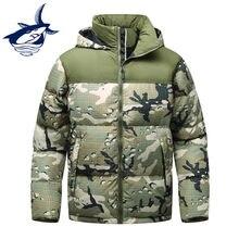 fc780fb251a Nouvelle russie hiver hommes doudoune marque Tace   requin thermique  coupe-vent épais hommes veste