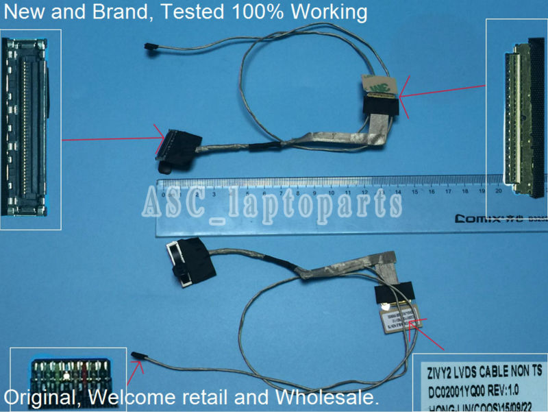 United New For Lenovo Ideapad U430 U430p Dd0lz9lc020 Dd0lz9lc020 Lz9 Non Touch Coaxial Led Lcd Screen Lvds Video Display Cable High Quality Computer Cables & Connectors