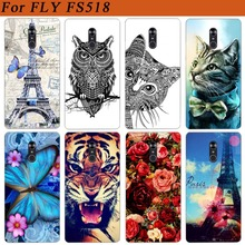 For Fly Cirrus 13 FS518 Case Cover Pattern Painted Colored T