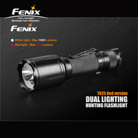 New Arrival Fenix TK25 Red Version Cree XP G2 S3 XP E2 Red LED S Dual