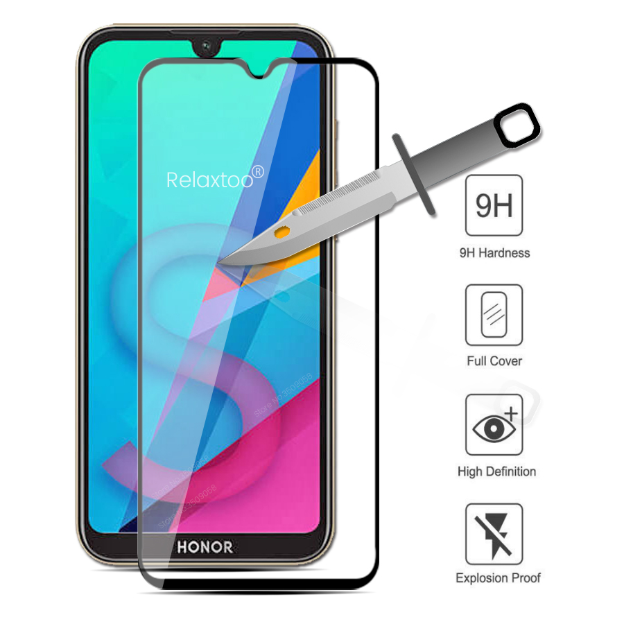 Protective Glass On Honor 8s Glass For Huawei Honor 8a Pro 8s 8x 8c Screan Protector Honar Honer S8 X8 C8 A8 Safety Film Cover