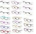 Olho de Gato mulheres Óculos Armações de Moda Borboleta-forma De Vidro Lerdo oculos de sol Femininos Maravilha Olho
