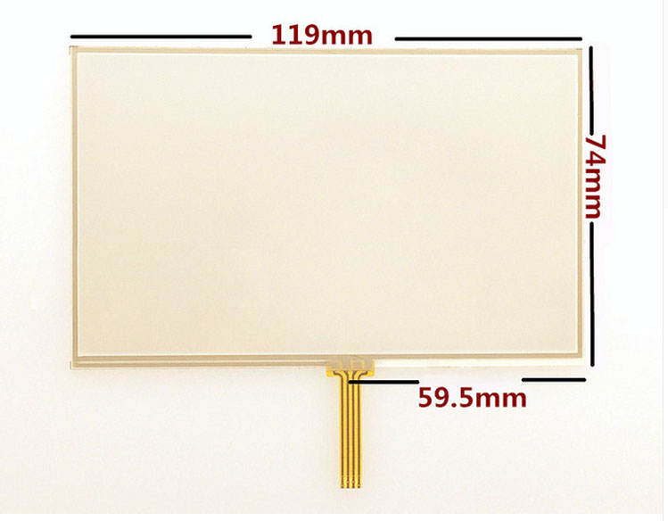wholesale New 5 inch Touch screen panels for TomTom VIA 115 125 135 GPS Touch screen
