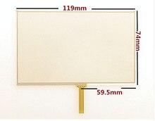 """Comercio al por mayor """"nuevos paneles de la pantalla Táctil de $ number pulgadas para TomTom VIA 115 125 135 GPS de la pantalla Táctil de reemplazo del panel digitalizador Envío libre"""