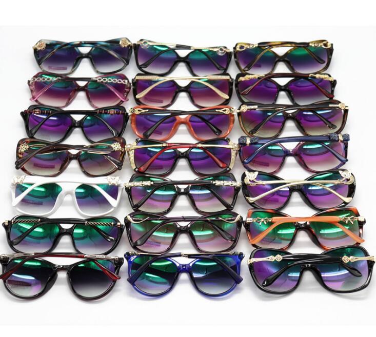 New Fashion Women's Sunglasses Large Frame Women's Sunglasses Korean version of sunglasses